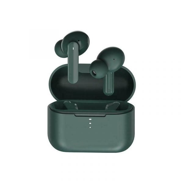 Qcy T10 Wireless Bluetooth Earbud Tws Greenish Blue (4)