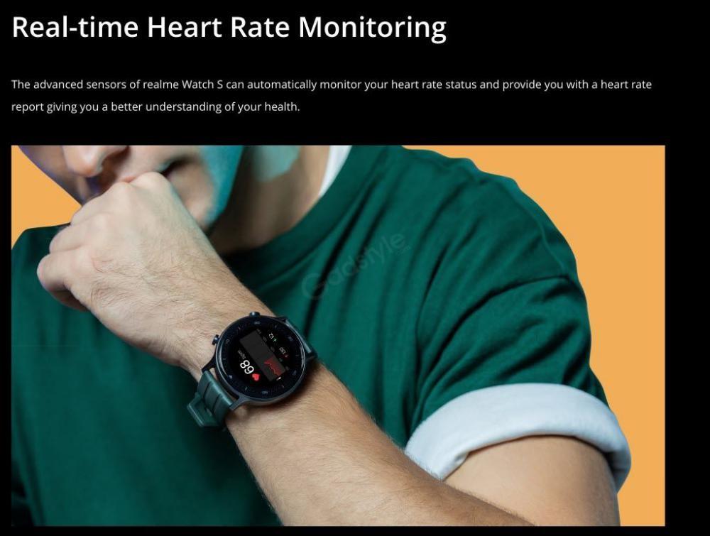 Realme Watch S Smartwatch (4)