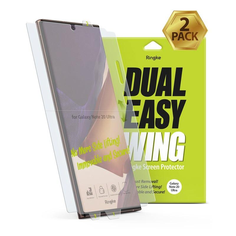 Ringke Dual Easy Film Screen Protector Galaxy Note 20 Ultra (1)