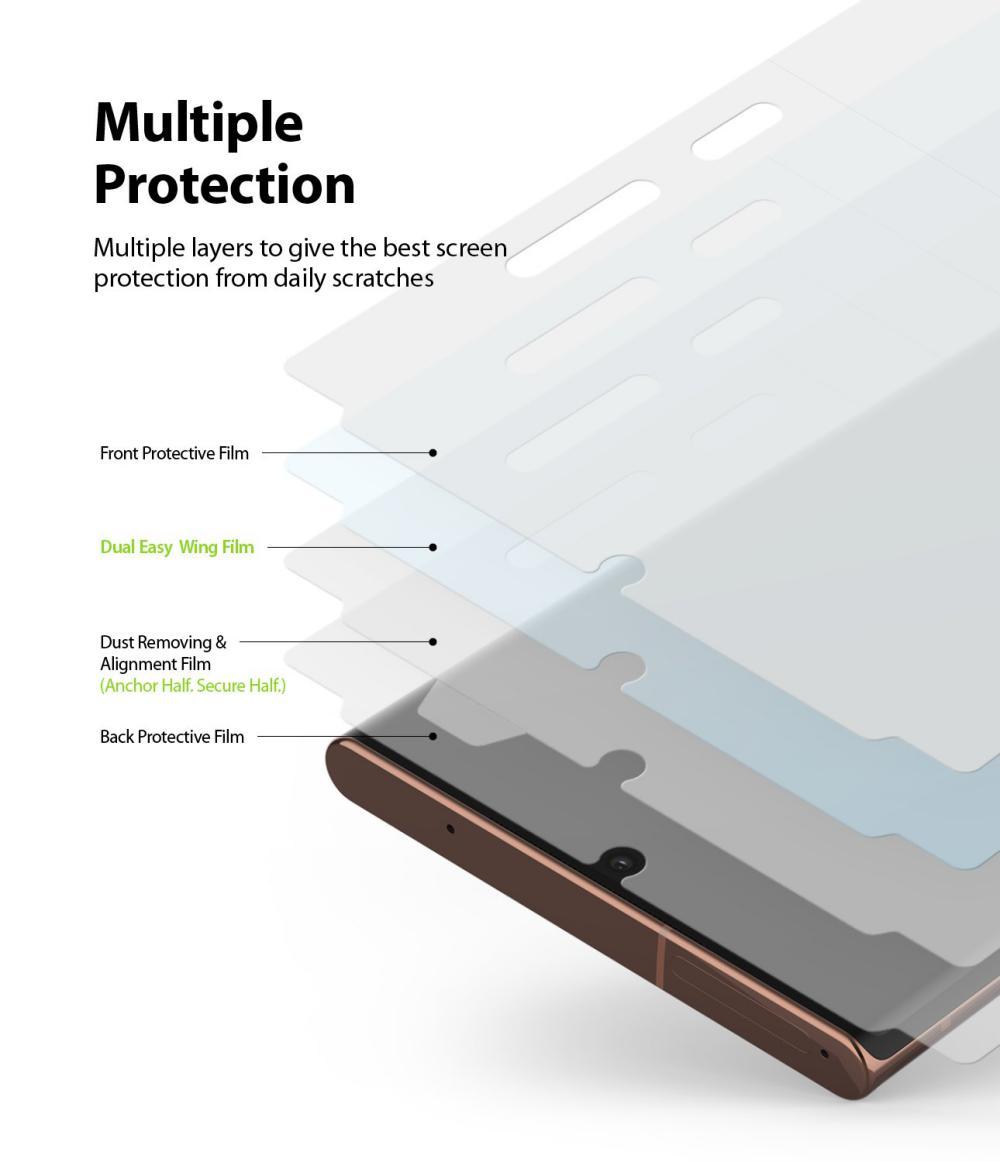 Ringke Dual Easy Film Screen Protector Galaxy Note 20 Ultra (3)
