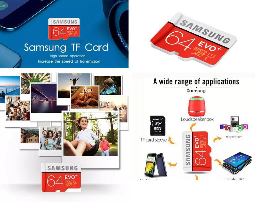 Samsung Evo Plus 64gb Microsd Class 10 Memory Card (2)