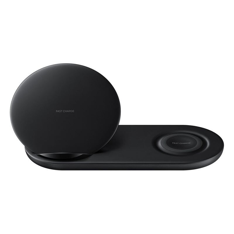 Samsung Wireless Charger Duo Pad With Wall Charger Afc 25w Black (1)
