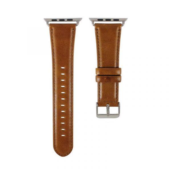Santa Barbara Polo Racquet Club Genuine Leather Strap For Apple Watch (1)