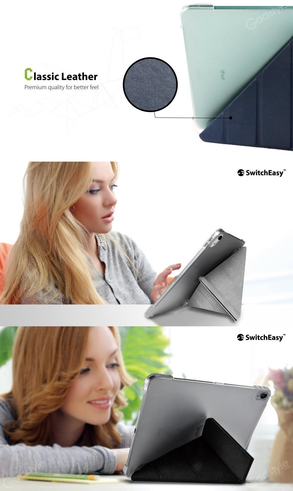 Switcheasy Origami Protective Classic Leather Case For Ipad 10 9 Air 2020 (10)