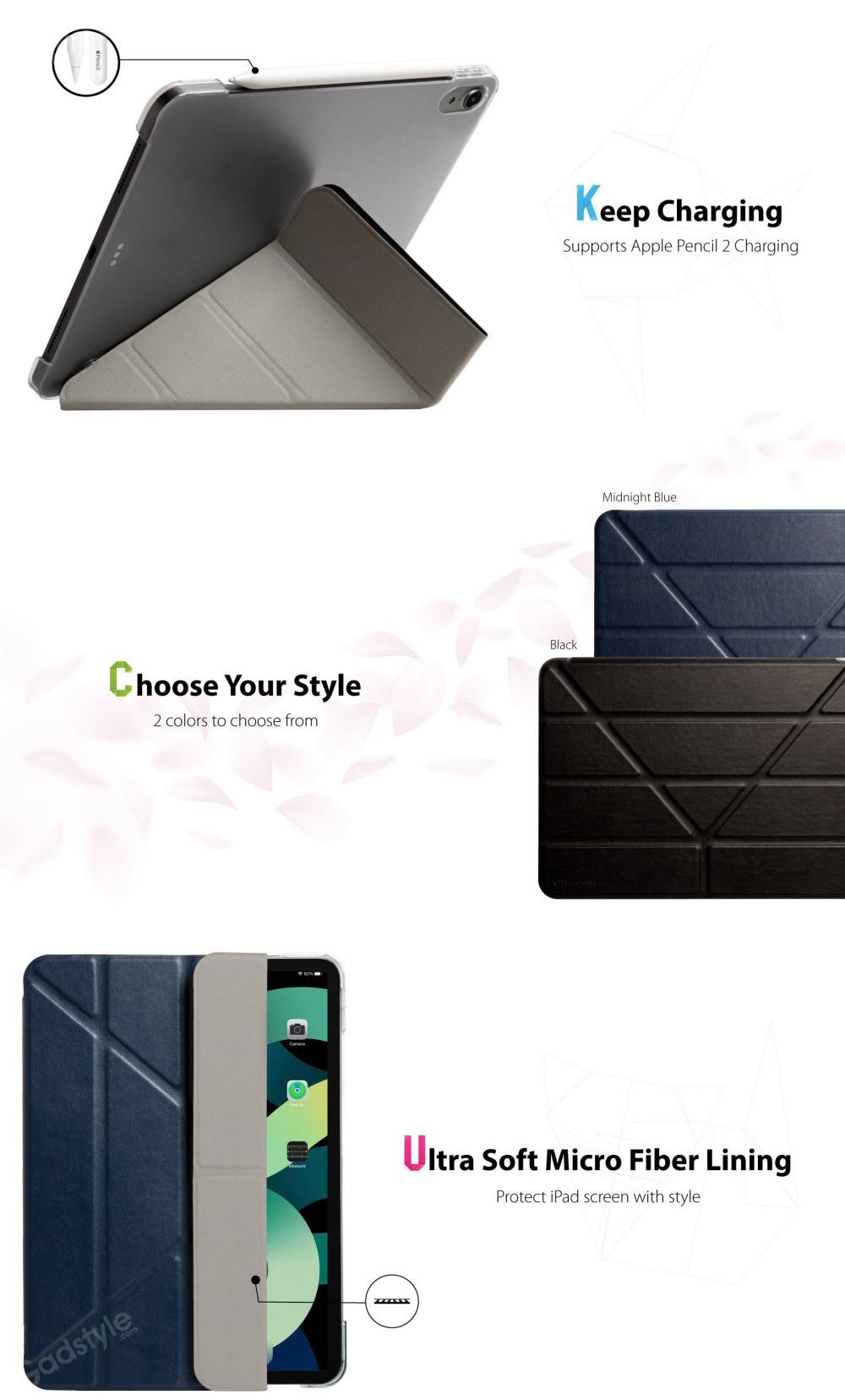 Switcheasy Origami Protective Classic Leather Case For Ipad 10 9 Air 2020 (8)