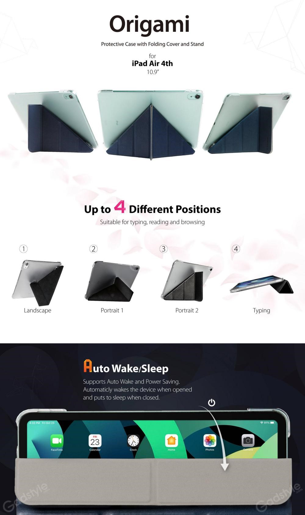 Switcheasy Origami Protective Classic Leather Case For Ipad 10 9 Air 2020 (9)