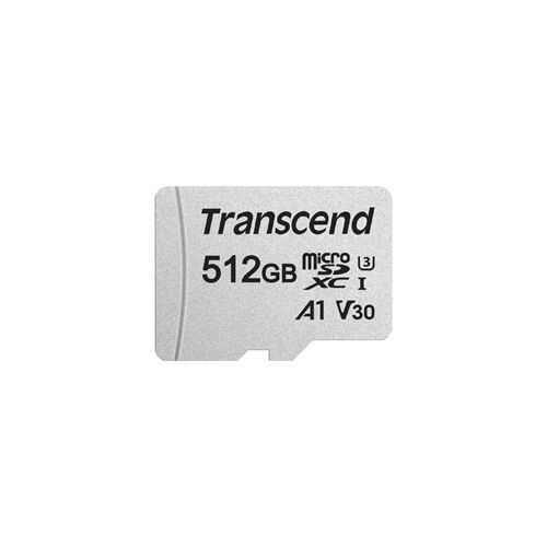 Transcend 512gb Micro Sd Uhs I U3 Memory Card With Adapter