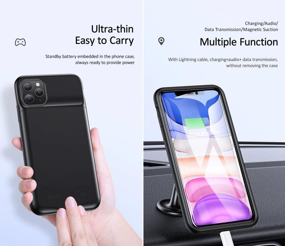 Usams Rechargeable Battery Case For Iphone 12 12 Mini 12 Pro 12 Pro Max (2)