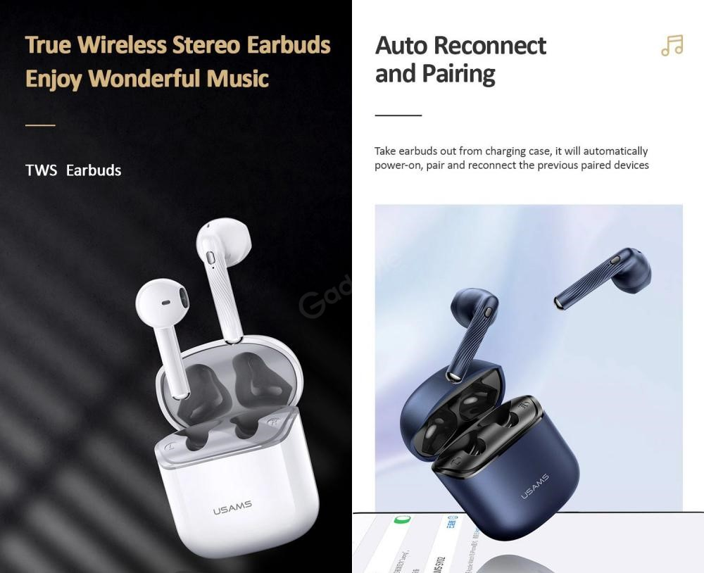 Usams Sy02 Tws Wireless Earbuds (4)
