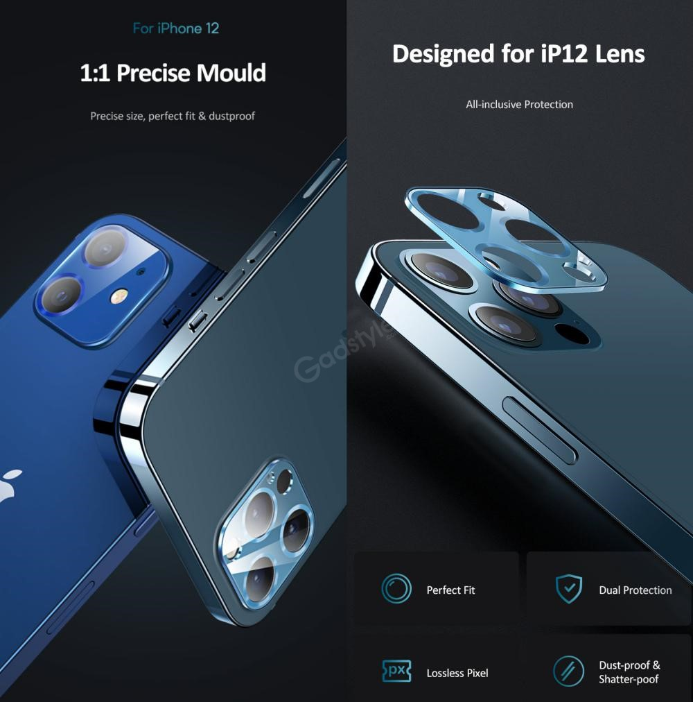 Usams Us Bh707 Metal Camera Lens Glass Film For Iphone 12 Pro Max (4)