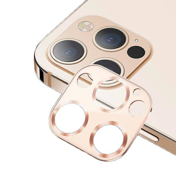 Usams Us Bh707 Metal Camera Lens Glass Film For Iphone 12 Pro Max Gold