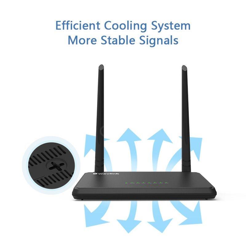 Wavlink Wl Wn529k2 N300 Smart Wifi Omnidirectional Router (4)