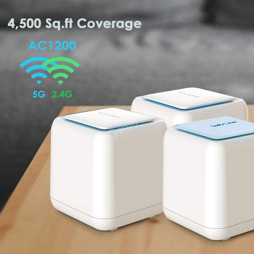 Wavlink Wn535k3 Ac1200 Dual Band Whole Home Wifi Mesh Router (4)