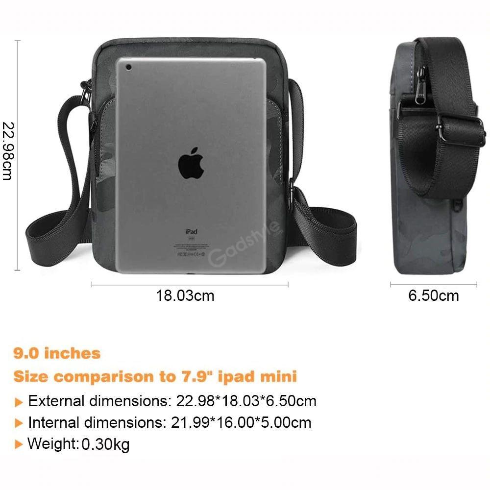 Wiwu Camouflage Crossbody Large Capacity Waterproof Shoulder Messenger Bag (4)