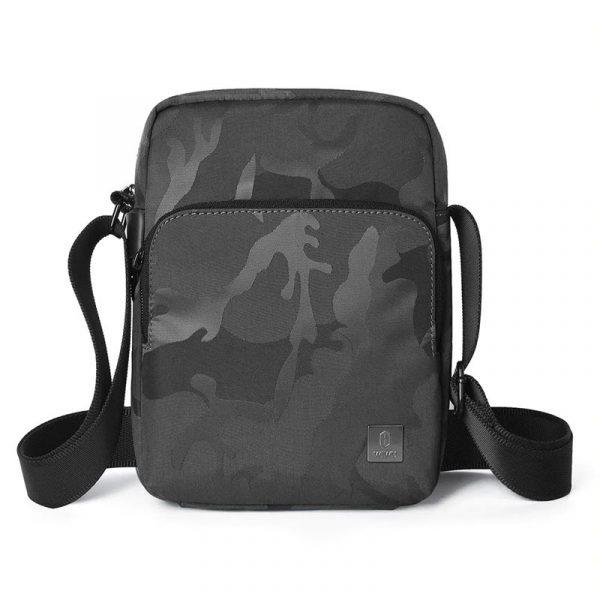 Wiwu Camouflage Crossbody Large Capacity Waterproof Shoulder Messenger Bag (5)