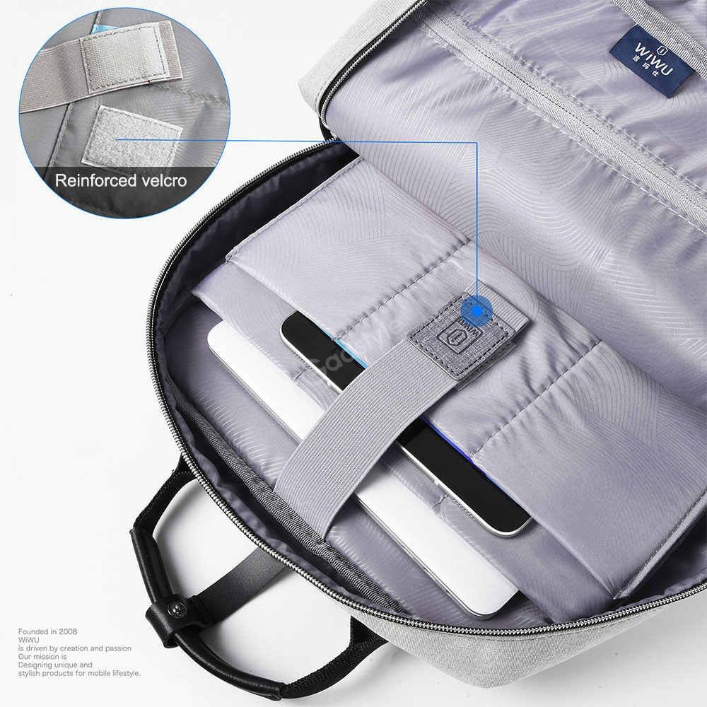 Wiwu Large Capacity Nylon Fashion Laptop Backpack (7)