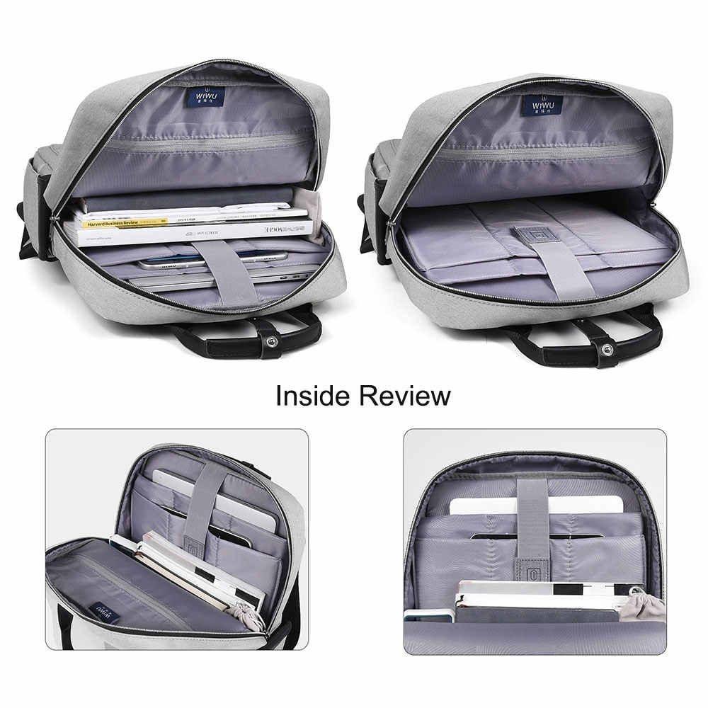 Wiwu Large Capacity Nylon Fashion Laptop Backpack (8)