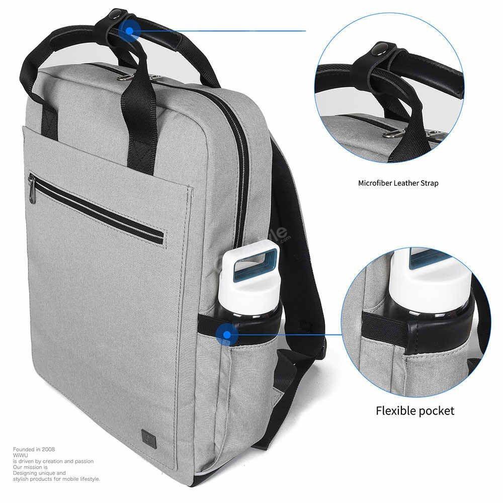 Wiwu Large Capacity Nylon Fashion Laptop Backpack (9)