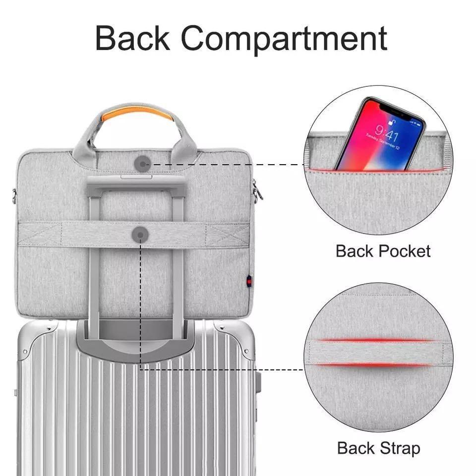 WIWU Pioneer Shoulder Waterproof Bag for 14 Inch