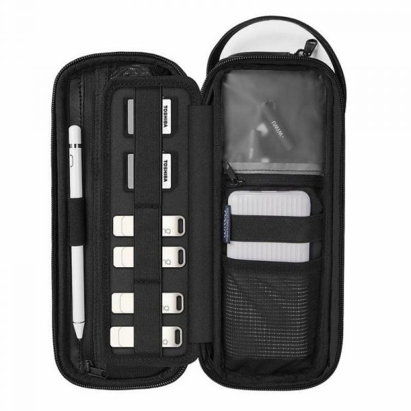 Wiwu Pouch X Multiple Compartments Waterproof Digital Items Storage Bag (3)