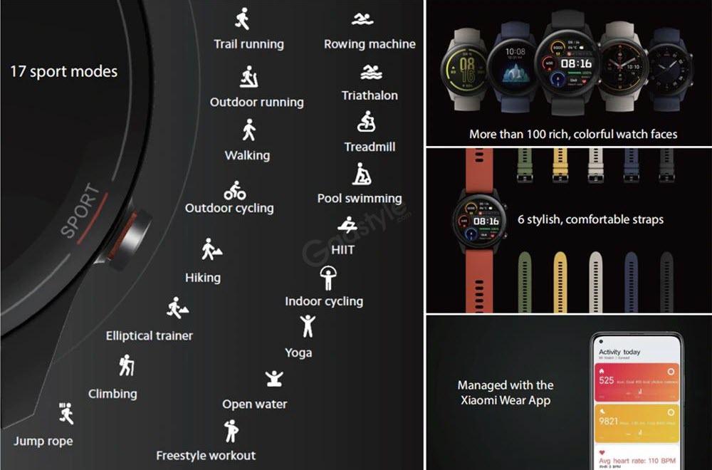 Xiaomi Mi Watch Global Version Black (2)