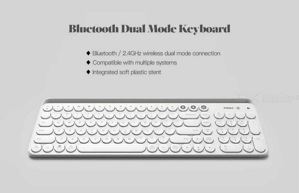 Xiaomi Miiiw Mini Bluetooth Dual Mode Keyboard 104 Keys (4)