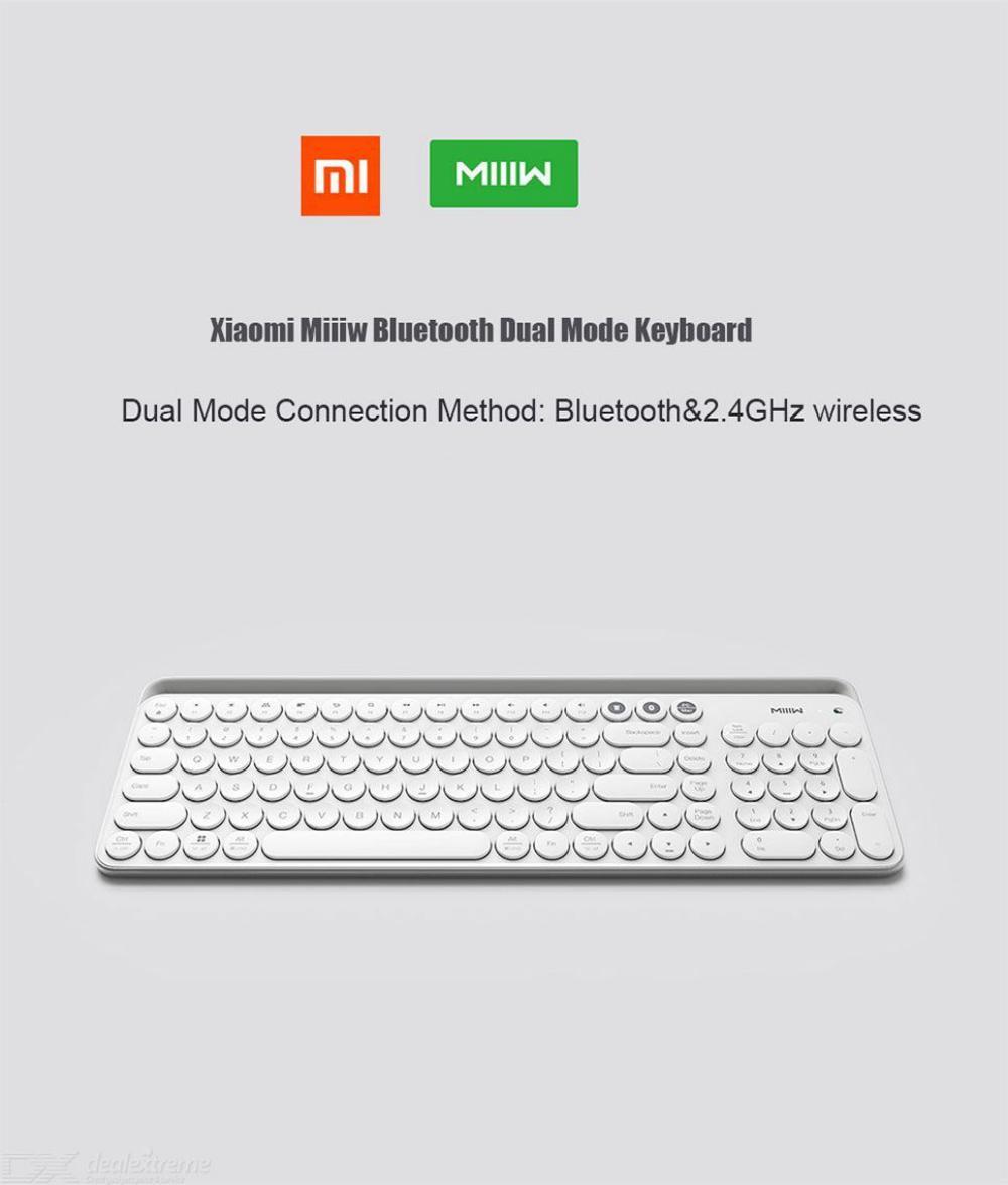 Xiaomi Miiiw Mini Bluetooth Dual Mode Keyboard 104 Keys (6)