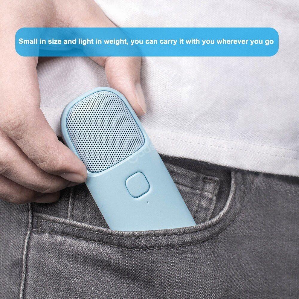 Xiaomi Portable Ultra Thin 3 5mm Wired Mini Microphone Compact Handheld Ktv Music Speake (5)