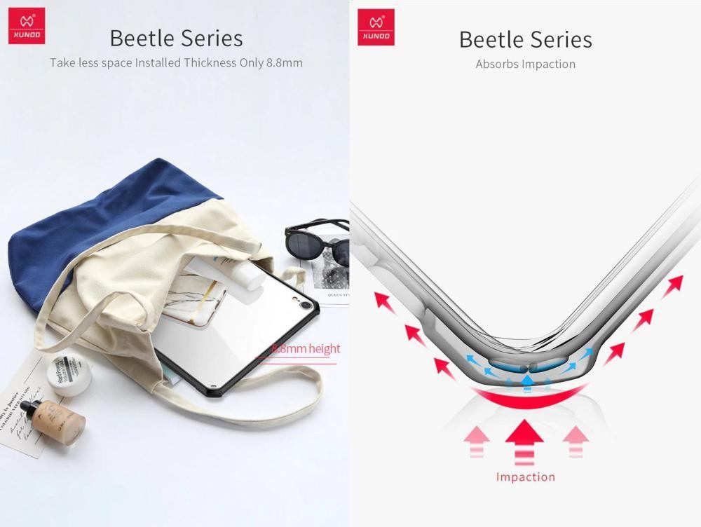 Xundd Beatle Transparent Shock Proof Protective For Ipad Ipad Pro Ipad Air Ipad Mini (2)