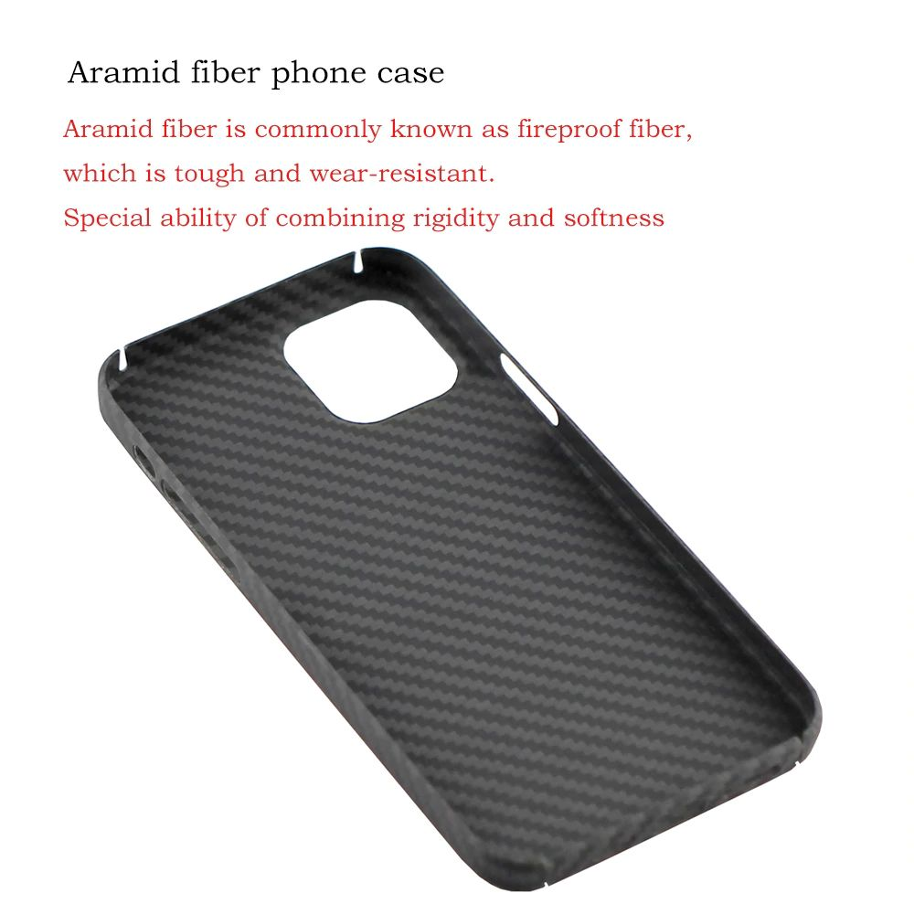 Ytf Carbon Real Carbon Fiber Case For Iphone 12 Series (3)