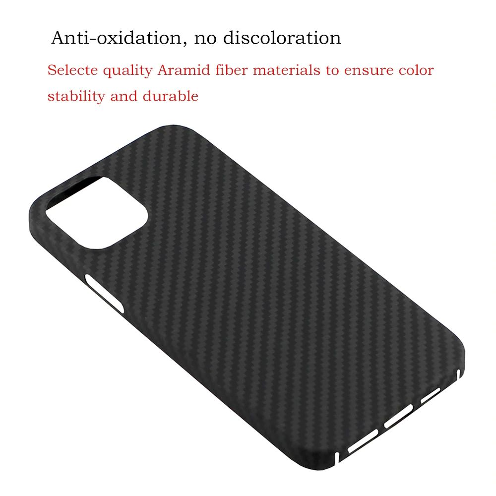 Ytf Carbon Real Carbon Fiber Case For Iphone 12 Series (4)