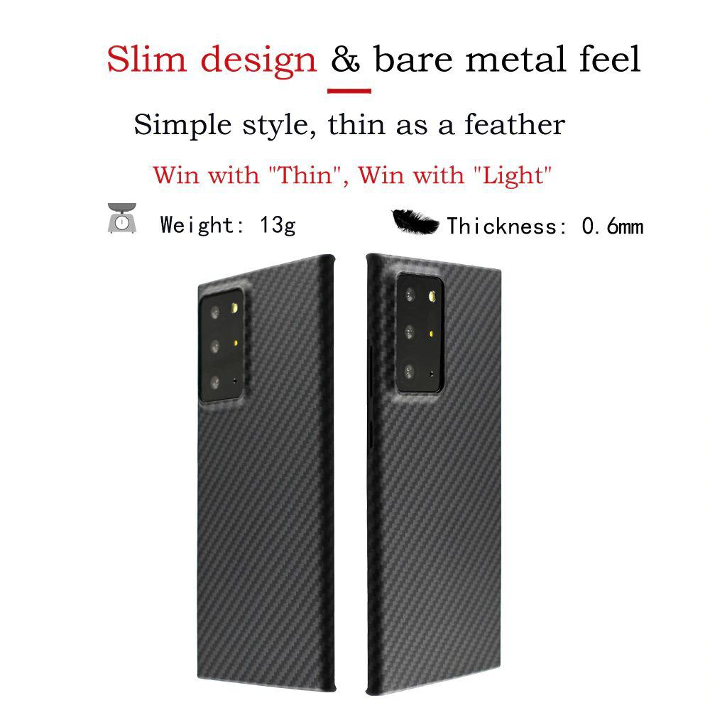 Ytf Carbon Real Carbon Fiber Case For Samsung Galaxy Note 20 Ultra (1)