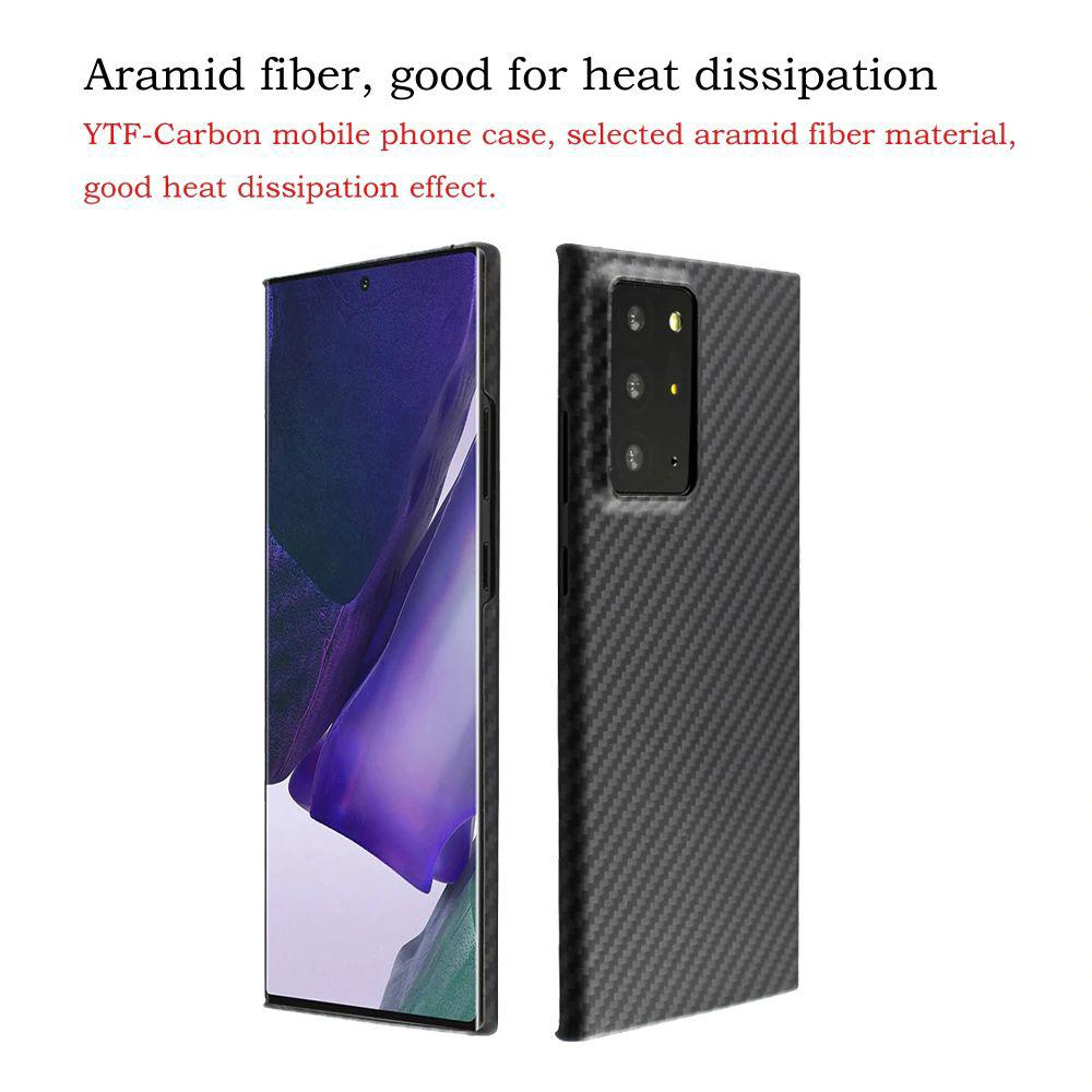 Ytf Carbon Real Carbon Fiber Case For Samsung Galaxy Note 20 Ultra (3)