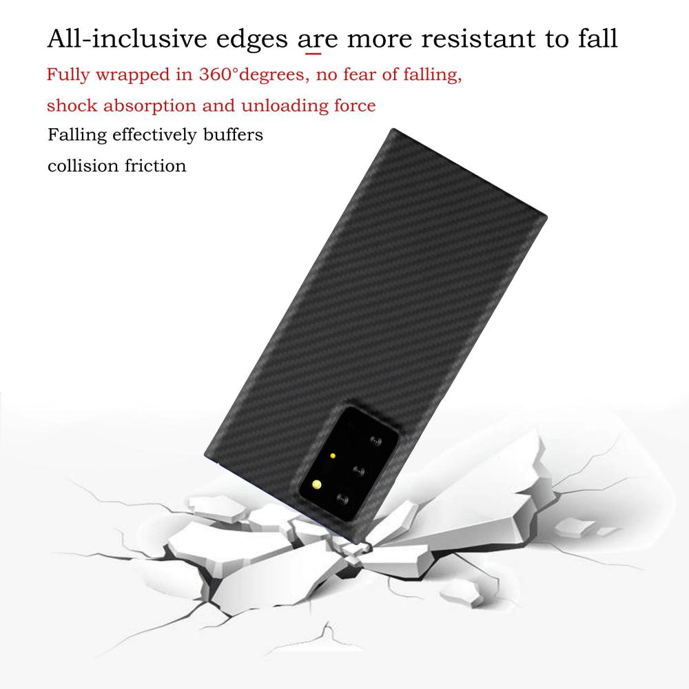 Ytf Carbon Real Carbon Fiber Case For Samsung Galaxy Note 20 Ultra (4)