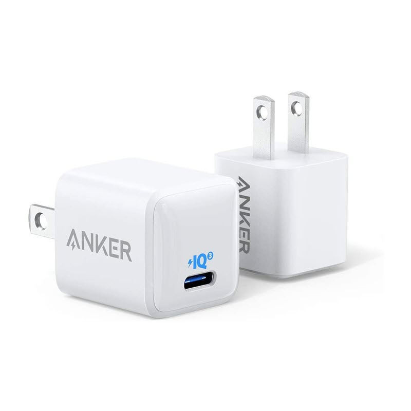 Anker 20w Powerport Iii Nano Piq 3 0 Usb C Charger For Iphone 12 Series
