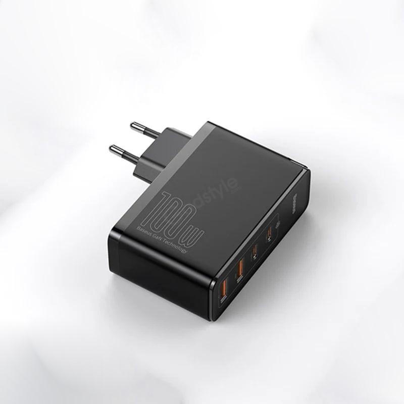 Baseus 100w Gan2 Pro Usb Type C Pd Fast Charger (7)