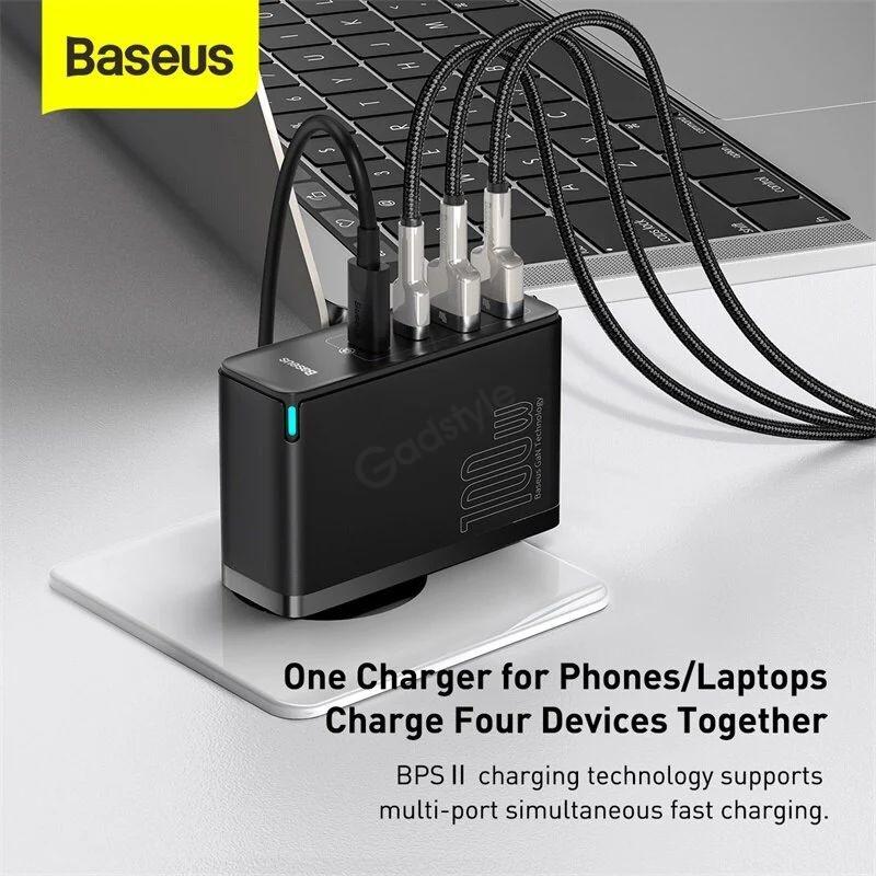 Baseus 100w Gan2 Pro Usb Type C Pd Fast Charger (9)