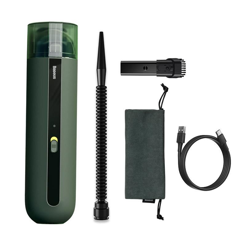 Baseus A2 Car Vacuum Cleaner 5000pa Powerful Suction Green