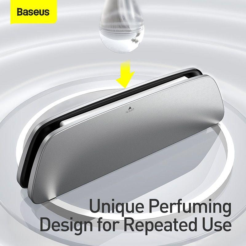 Baseus Metal Car Air Freshener Perfume Long Lasting Fragrance (8)