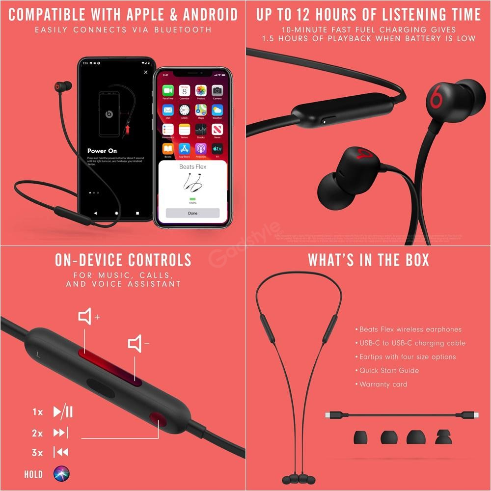 Beats Flex Wireless Earphones (1)