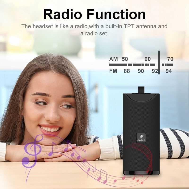 Celebrat Sp 7 Wireless Speaker Support Tf Card (4)
