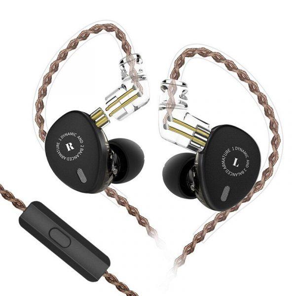 Kbear Kb06 2ba1dd In Ear Earphone With Mic (1)
