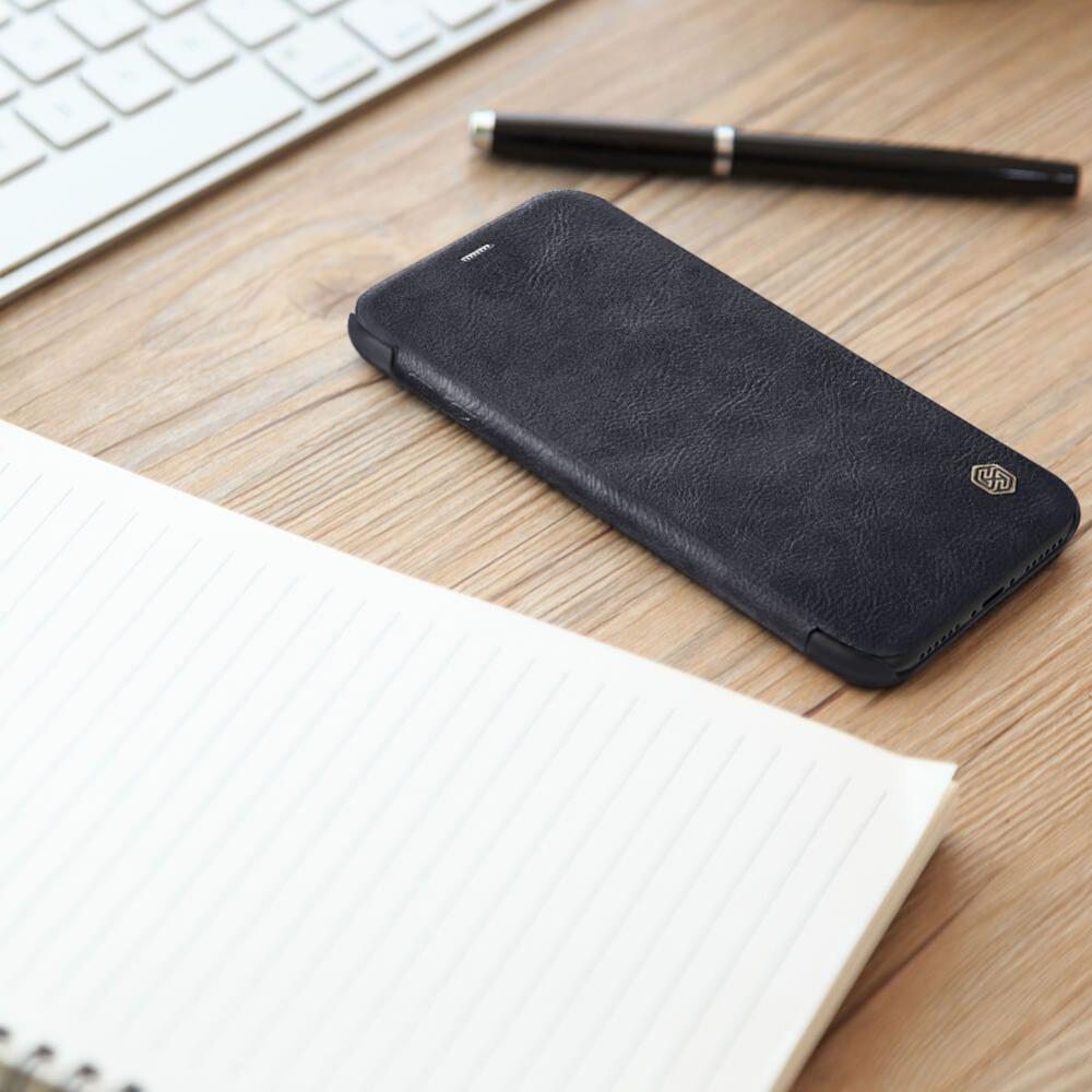 Nillkin Leather Case For Iphone Xs Iphone X (1)