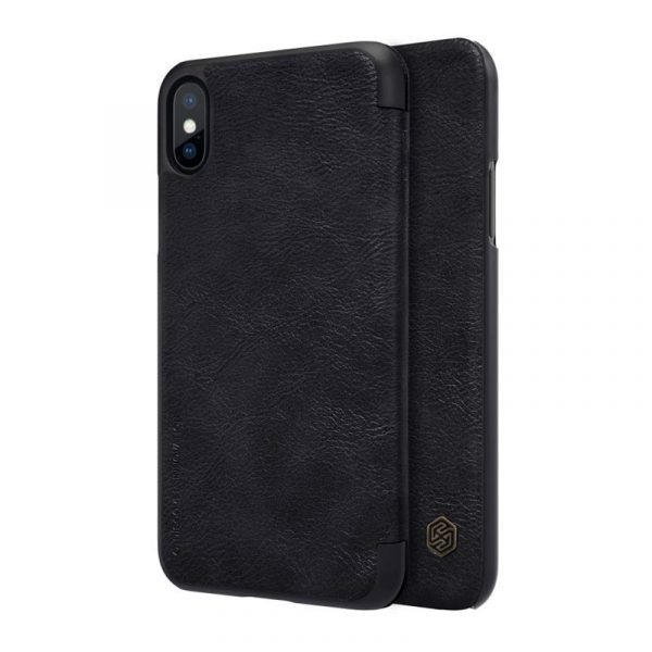 Nillkin Leather Case For Iphone Xs Iphone X (2)