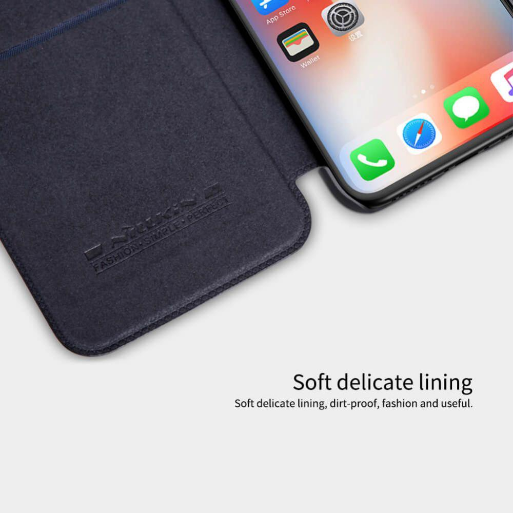 Nillkin Leather Case For Iphone Xs Iphone X (4)