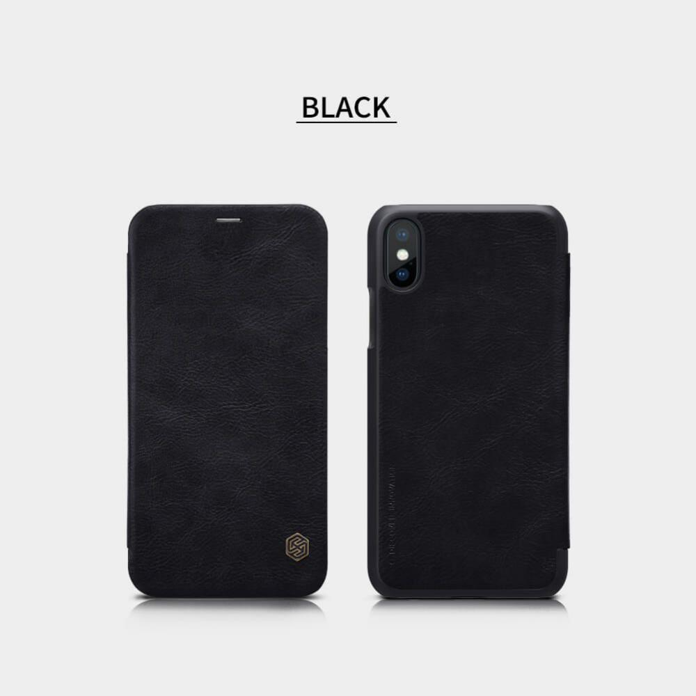 Nillkin Leather Case For Iphone Xs Iphone X (5)