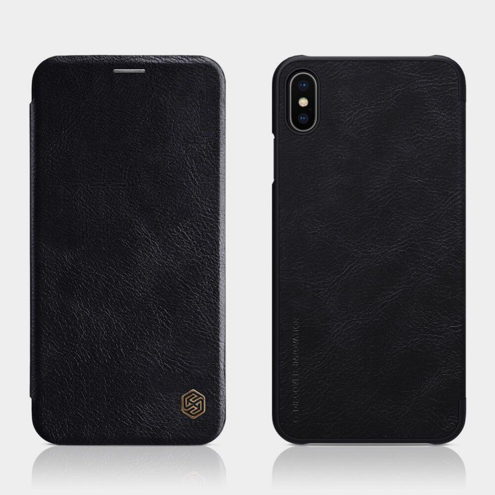 Nillkin Leather Case For Iphone Xs Max (2)