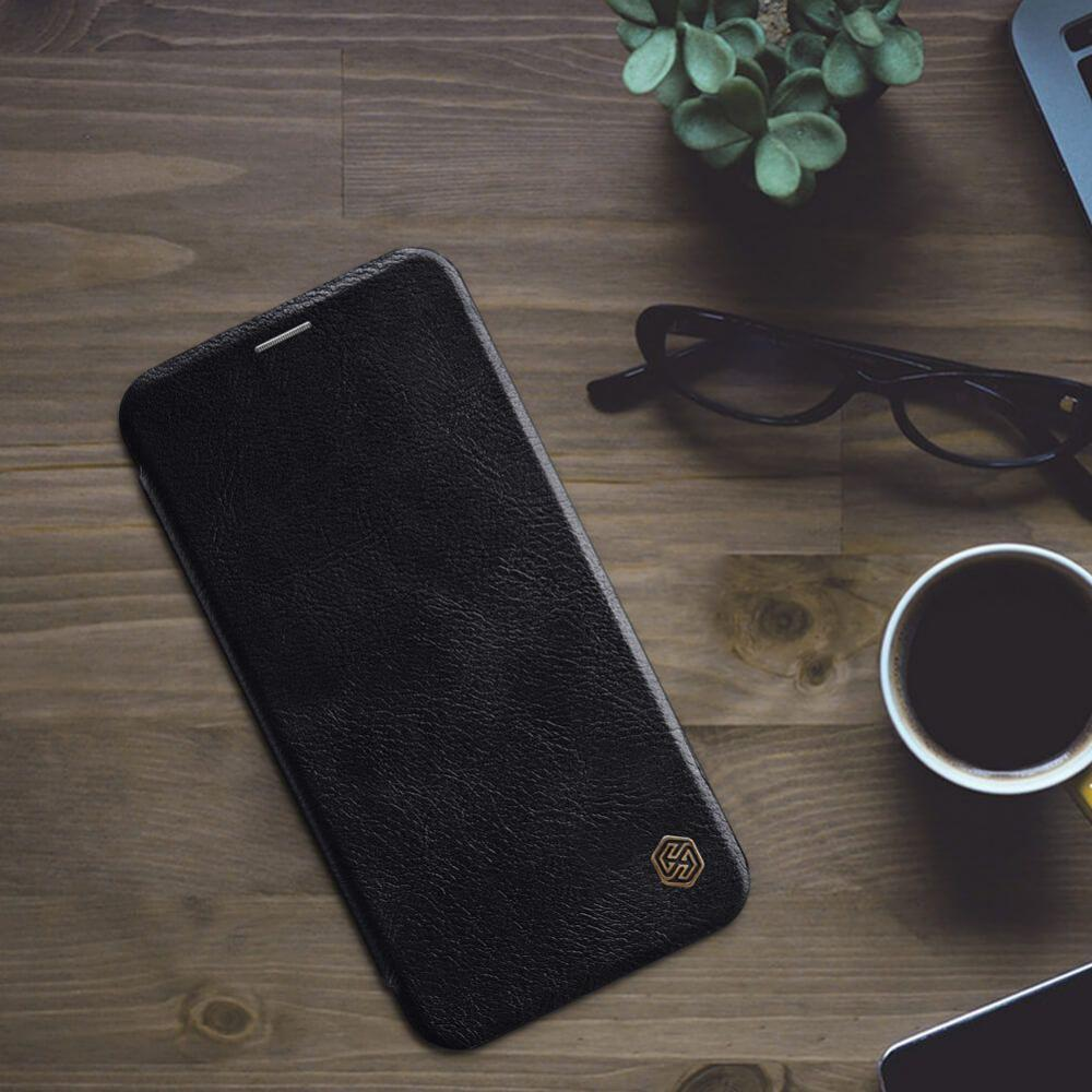 Nillkin Leather Case For Iphone Xs Max (3)