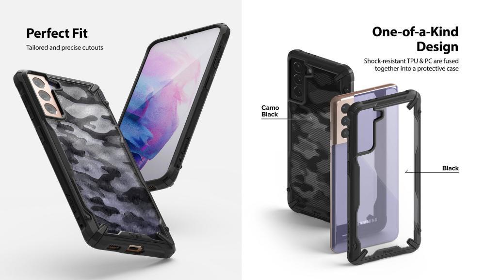 Ringke Fusion X Camo Case For Galaxy S21 Plus (3)