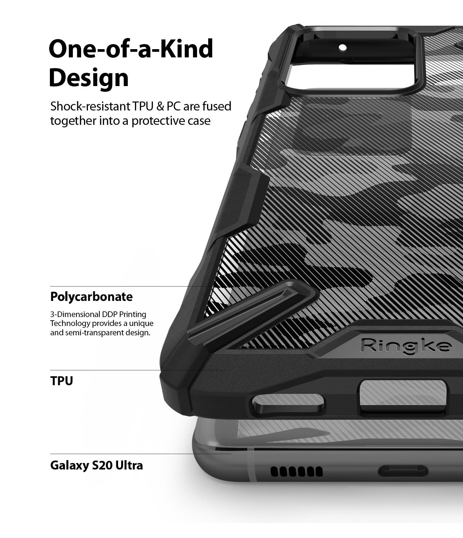 Ringke Fusion X Camo Case For Samsung S20 Ultra (5)